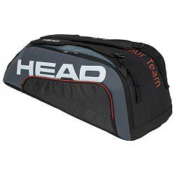 Taška na rakety Head Tour Team 9R Supercombi Black/Grey 2020