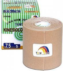 Tejpovacia páska TEMTEX Kinesio Tape Classic 7,5 cm × 5 m