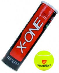 Tenisové loptičky Tecnifibre X-One (4 ks)