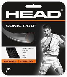 Tenisový výplet Head Sonic Pro Black 1.30 mm (12 m)