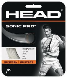 Tenisový výplet Head Sonic Pro White (12 m)