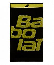 Uterák Babolat Towel Medium Black/Yellow