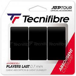 Vrchná omotávka Tecnifibre Players Last Black (3 ks)