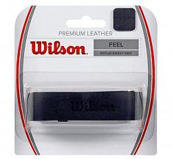 Základná omotávka Wilson Premium Leather Grip Black